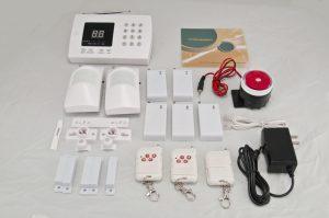 установка охранной сигнализации