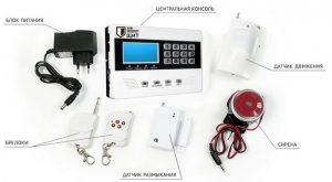 охранные системы gsm сигнализации
