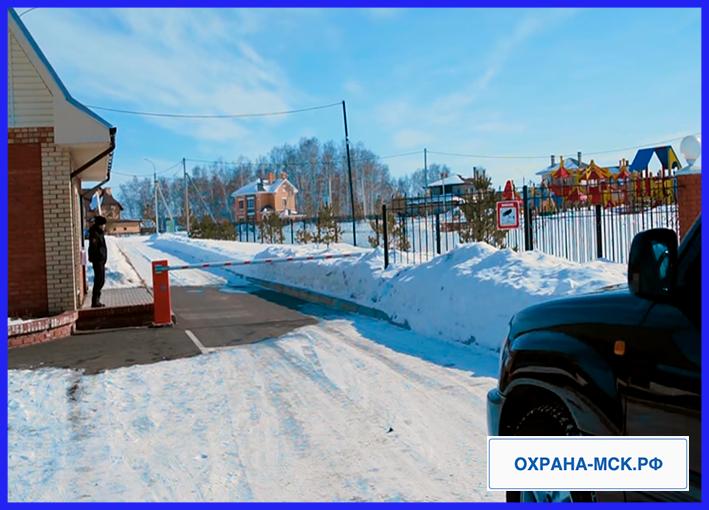 Охрана дачных поселков в московской области
