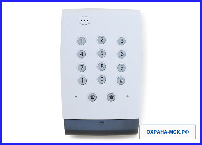 Панель сигнализации для пультовой охраны квартиры