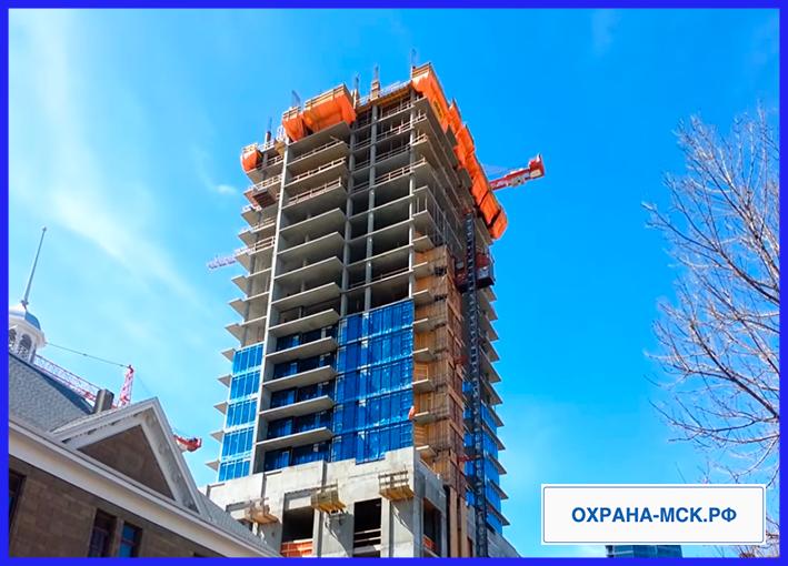 Охрана строительных площадок в москве