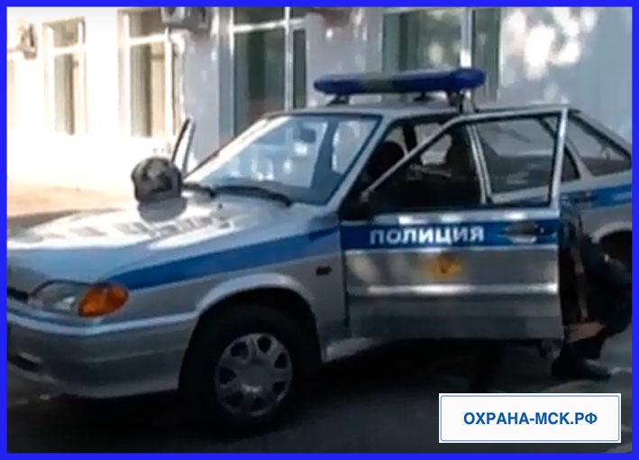 Охрана дачи полицией