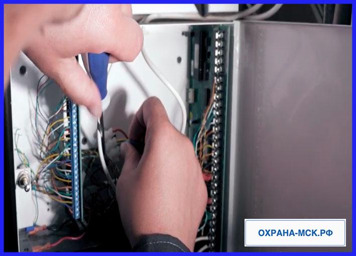 Охранная система в Электростали - установка