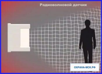 Радоиоволновой датчик автономной охранной сигнализации